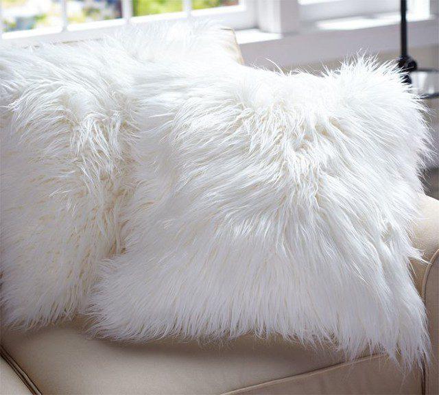 Contemporary-Decorative-Faux-Fur-Pillows
